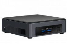 Intel NUC7i7DNKE y NUC7i5DNK2E, comparativa de dos miniPC