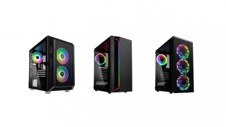Kolink presenta nuevas cajas de categoría Micro ATX y Torre MIDI