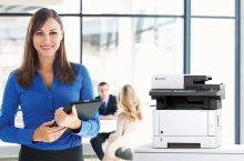 Kyocera Ecosys M2735DW, una impresora láser en B/N para la oficina