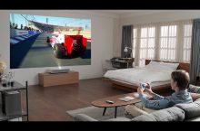 Cine 4K con el proyector LG CineBeam HU85L