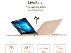Livefan S1, conoce este ultrabook de 13 pulgadas 2K