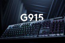 Logitech G915 Lightspeed y G815 Lightsync RGB, dos teclados gaming