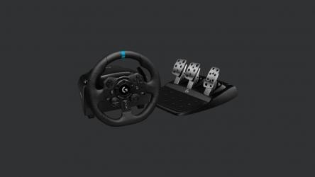 Logitech G923, volante de carreras gaming Trueforce