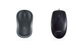 Logitech M185 y M90, ratón barato con o sin cable