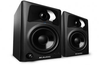 M-Audio AV42, una excelente pareja de monitores de 2 vías para escritorio