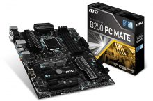 MSI B250 PC Mate, solución de negocio para los nuevos micros Intel