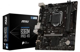 MSI B360M PRO-VD, una placa mini para acceder a micros de 8ª Intel