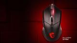 MSI Clutch GM08, ratón gaming preciso con luz LED roja