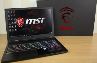 MSI GS63VR 7RF-250ES, el portátil gaming más ligero