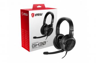 MSI Immerse GH30 V2, la evolución de los cascos gaming