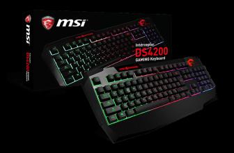 MSI Interceptor DS4200, un teclado para dar color a tu estilo gamer