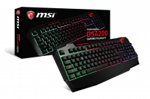 MSI Interceptor DS4200, un teclado para dar color a tu estilo gamer