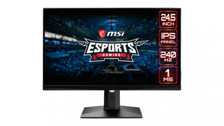 MSI MAG251RX, un nuevo y espectacular monitor gaming