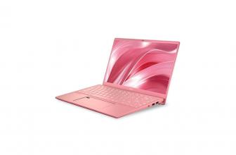 MSI Prestige 14 A10SC-222ES, llamativo portátil de color rosa