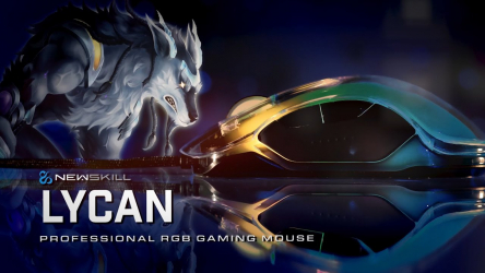Newskill Lycan, ratón gaming con cubierta personalizable