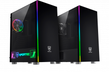 Presentadas las torres Caronte y Caronte Pro de Nfortec con mucho RGB