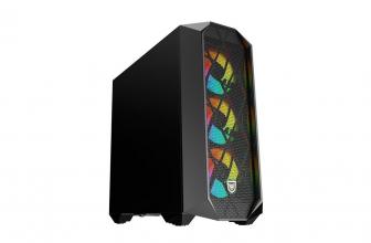 Nfortec Synistra, torre gaming con diseño en formato vertical