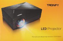 Tronfy 2015, opiniones de este proyector LED de hasta 130 pulgadas