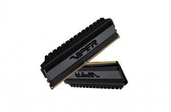 Patriot Viper 4 Blackout, nuevas memorias para AMD Ryzen 3000