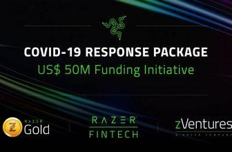 Razer COVID-19 Response Package, 50 millones para la crisis del virus