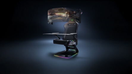 Razer Project Brooklyn, la silla gaming y battlestation del futuro