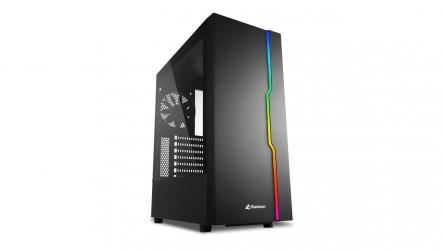 Sharkoon RGB Slider, chasis gaming con toque RGB y bajo precio