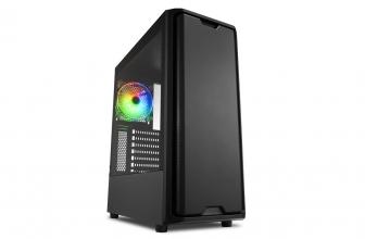 Sharkoon SK3 RGB, un muy económico chasis gaming con ARGB