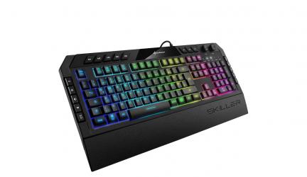 Sharkoon SKILLER SGK5, el teclado gaming más avanzado de la marca