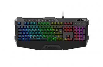 Anunciado el Sharkoon Skiller SGK4, un teclado gaming a buen precio