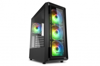 Sharkoon TK4 RGB, un chasis gaming a tope de ARGB