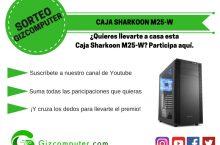 SORTEO: Caja Sharkoon M25-W, llévatela gratis con Gizcomputer [FINALIZADO]