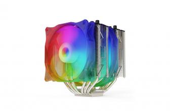 SilentiumPC Grandis 3 EVO ARGB, potente cooler con iluminación