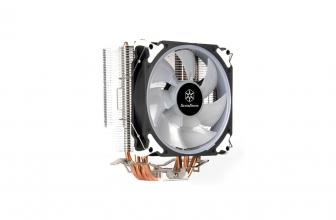 SilverStone Argon AR12 RGB, cooler para CPU de equipos medios