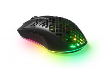 SteelSeries Aerox 3 Wireless, ratón ultraligero e inalámbrico para gaming