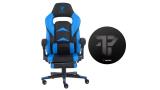Tempest Pack F36-2, silla gaming con reposapiés y alfombra incluida