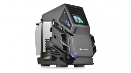 Thermaltake AH T200, impresionante chasis gaming de diseño exclusivo