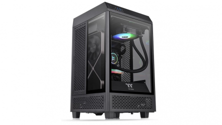 Thermaltake Tower 100 Mini, chasis mini-ITX en forma de cubo