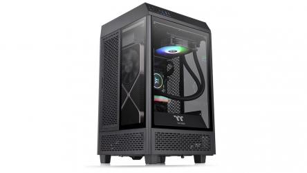 Thermaltake Tower 100 Mini, chasis mini-ITX en forma de cubo