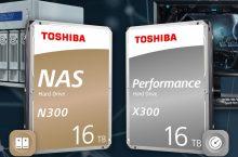 #IFA19: Toshiba N300 y X300, HDD ahora con 16 TB de capacidad