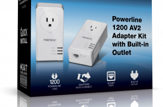 Trendnet TPL-421E2K, crea una red Powerline 1200 de rendimiento extremo