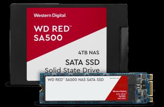 WD Red SA500, nuevos SSD de Western Digital para sistemas NAS