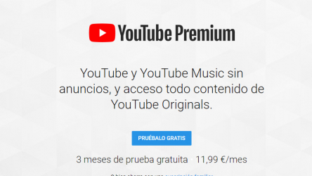 YouTube Music y YouTube Premium lanzados oficialmente en España