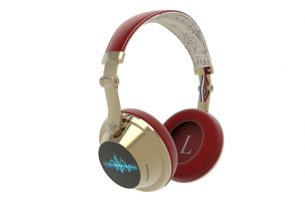 Debussy, unos auriculares con pantalla táctil