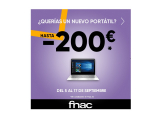 ¡FNAC nos da hasta 200€ de descuento en ordenadores!